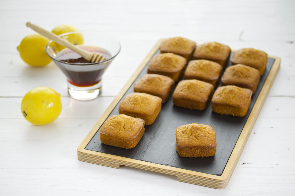Bizcohitos integrales de miel y limón