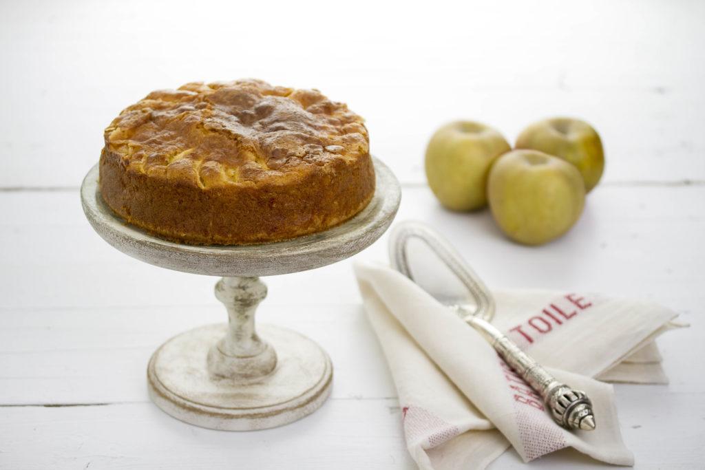 Pastel francés de manzana
